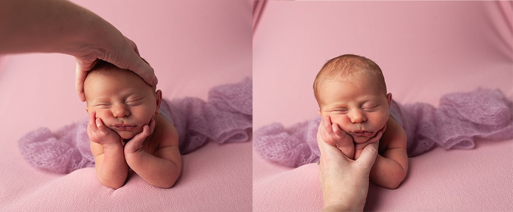 Newborn Photographer Olney Newborn safety