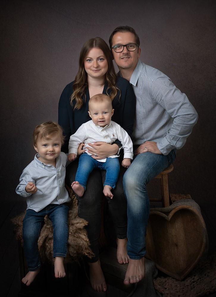 Family Photograph taken in Olney, Milton Keynes