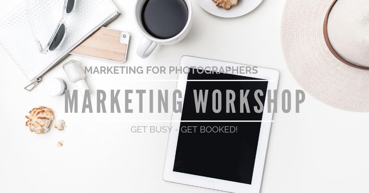 Marketing training for Photographers