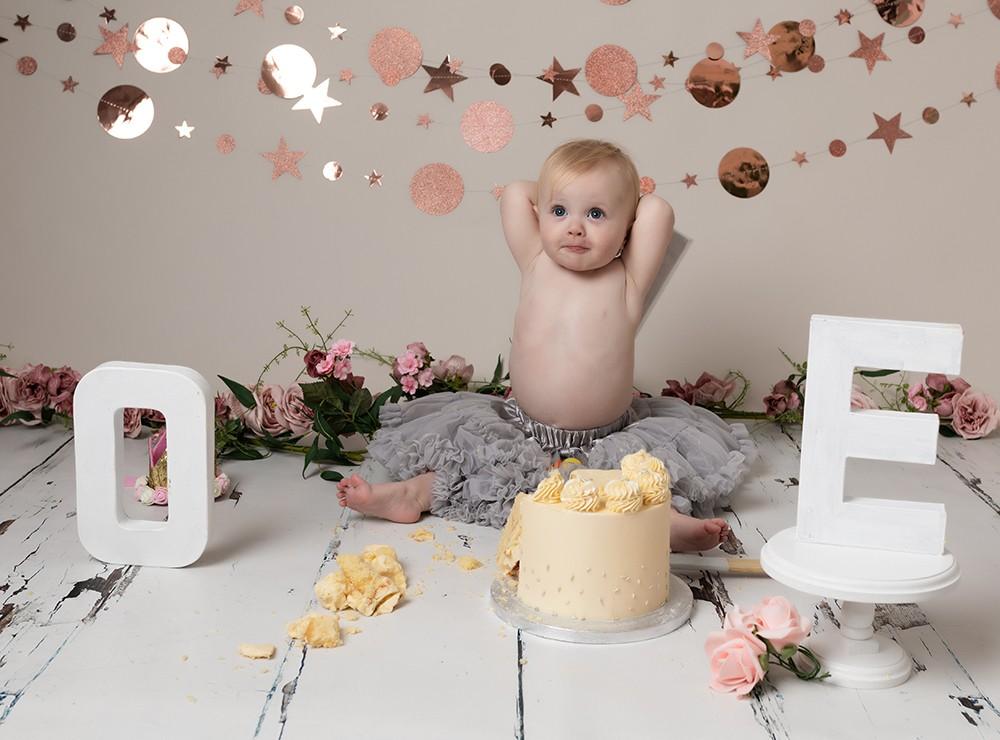 Birthday Cake Smash Milton Keynes