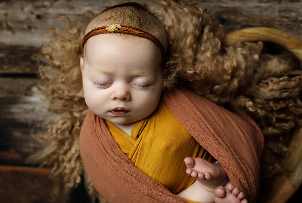 Older Newborn Photography